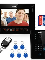 "9"" Video Door Phone Doorbell Intercom Kit, with SD card Picture Record, taking photo (1 Camera To 1 Monitor)"