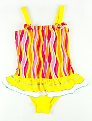 Girl's Nylon/Polyester Swimwear , Summer/Spring/Fall Sleeveless