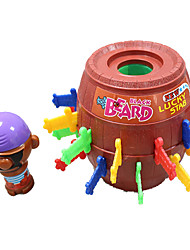 Tricky Toy Pirate Barrels / Lucky Stab Game(Random Color)