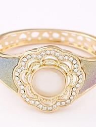 Cuff armband - Dames - Armbanden (Legering )