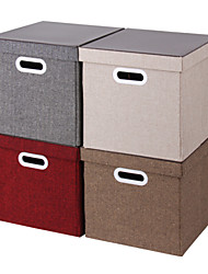 Wedding Gifts Canvas Cube Container Cloth Shoe Toys  Storage Bins Box Basement Collapsible