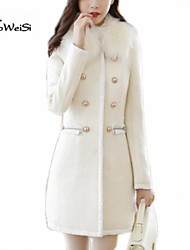 NUO WEI SI® Women's Fashion Winter All-match Tweed Coat
