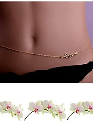 Body Jewelry/Belly Chain Body Chain Alloy Others Unique Design Fashion Gold 1pc
