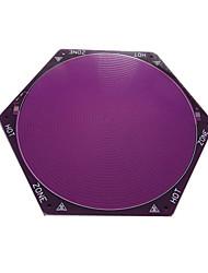 Teky Kossel rostock violet lit chaud pcb delta