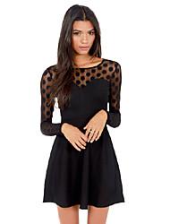 CYAY Women's Fashion Charm Long Sleeve Bodycon Dress
