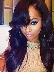 20inch Unprocessed Brazilian Virgin Hair Natural Wave  Natural Color Full Lace Wigs