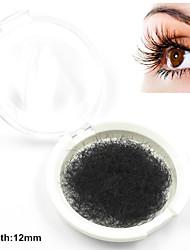1 Eyelashes lash Individual Lashes Eyelash Handmade Fiber