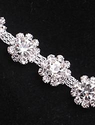 Wedding Décor 1Rows  Cake Phone DIY Bag Accessior Meshing Rhinestones SS17 Silver Claw  belts