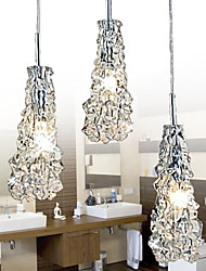 MAISHANG® Tradition Classic Transparent glass 3 Light Chandelier