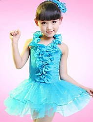 Shall We Kids' Dancewear Latin Dance Children Dress No Headpieces Costumes