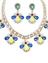 Colliers décoratifs/Boucles d'oreille (Alliage) Vintage/Soirée/Tous les jours pour Femme
