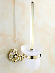 Neoclassical Ti-PVD Wall Mounted Toilet Brush Holder