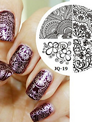 Nail Art Stamp Stamping Image Template Plate JQ Series NO.19