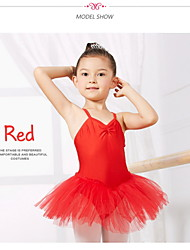 Kid's Dance Wear Dancewear Kids' Spandex And Gauze Ballet Dance Dress(More Colors) Kids Dance Costumes