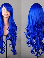 High-Quality Multicolor Light Waves Party Curly Hair  7 Colors Available