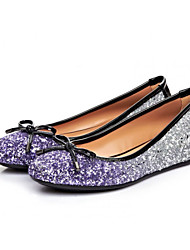 Women's Shoes Synthetic Flat Heel Round Toe Flats Party More Colors available