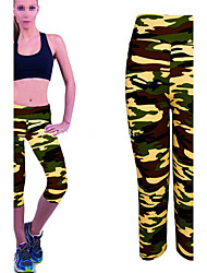 Pantalones de yoga Leggings / Prendas de abajo / Pantalones Secado rápido / Listo para vestir / Compresión / A Prueba de GolpesCintura