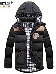 New Seibertron Men's Tacical Down Quilted Lightweight Puffer Jacket 80% White Duck Black Amry Green Color