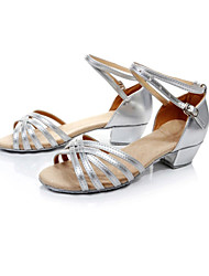 Women's Dance Shoes Latin Pu Low Heel (More Colors)