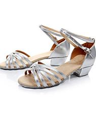 Women's Dance Shoes Latin Pu Low Heel (More Colors)