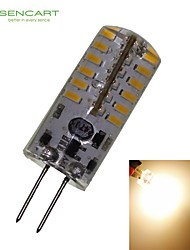 G4 GZ4 MR11 MR16 3W 48x3014SMD 280LM 3500K Warm White Waterproof LED Corn Bulbs AC220-240V