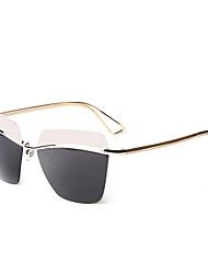 liansan 2015 новых 100% UV женских солнцезащитных очков без оправы флаер