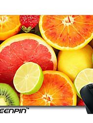 seenpin personalizado vitamina c fatias fresco fruta kiwi laranja pomelo limão morango pera mouse pads