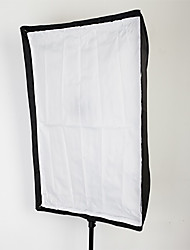 """tipo paraguas softbox cuadrado 60x90cm paraguas reflectante (24 """"x35"""") para Speedlight"""
