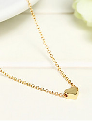 Lucky Star Women's Fashion Gold Print Chain Necklace