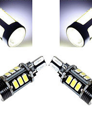 4W T10 Luces Decorativas 12 SMD 5730 350-450 lm Blanco Fresco Decorativa DC 12 V 1 pieza