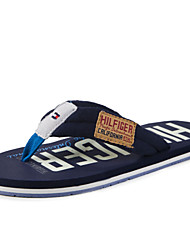 Men's Shoes Casual Fabric Slippers Black/Navy