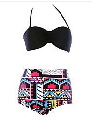 Bikinis ( Como na Foto ) - Mulheres - Respirável/Resistente Raios Ultravioleta/Vestível/Anti-Derrapagem