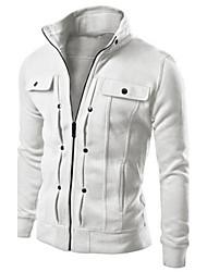 Thomas Men's Casual Stand Long Sleeve Sweats & Hoodies