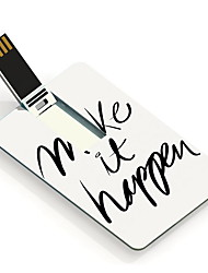 64GB Make it happen Design Card USB Flash Drive
