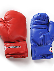 Boxing Gloves Full-finger Gloves Shockproof Boxing Red / Blue