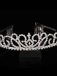 Women Rhinestoney Tiaras With Wedding Headpiece