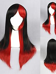 26inch beau noir&rouge direct lolita perruque