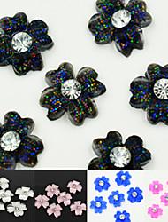10 - Bijoux pour ongles - Doigt/Autre - en Fleur/Mariage - 4*4*0.5