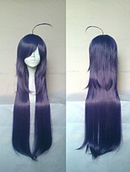 Stylish Purple Cosplay Wig Synthetic Hair Wigs  Long Straight  Animated Wigs Party Wigs 015C