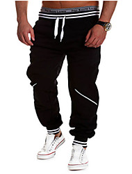 Happyboy Wholesale trade 2015 new pants men and the wind hit color mosaic of leisure sports pants male