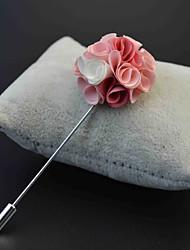 """Bouquets de Noiva Rosas Alfinetes de Lapela Cetim / Metal 8.66""""(Aprox.22cm)"""
