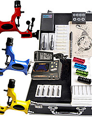 Grote Tattoo Kits 3 Rotary Machine New Design Power doos