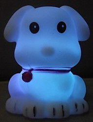 Multicolor Romantic Little Dog Pattern Night Light