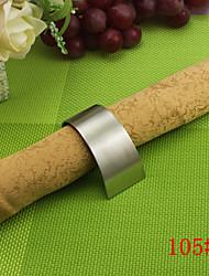 6Pcs Stailess Steel Spiral Napkin Ring