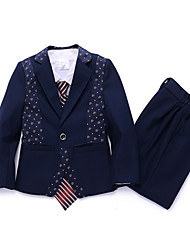 Boy's Casual Fashion Suits & Blazers & Vests & Pants