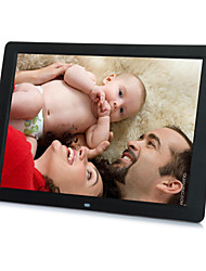 12inch Touch Screen High Resolution 16:9 Super Slim Digital Photo Frame for Photo/Music/Video