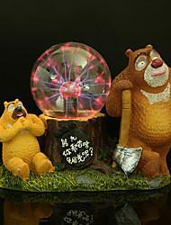 bola de cristal de resina hermano oso llevó la lámpara