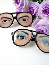 Those trick toys The new men's and women's jokes funny glasses