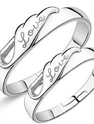 Couple de Bagues ( Argent sterling ) Mariage/Soirée/Quotidien/Casual