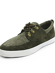 Men's Shoes Outdoor/Casual Canvas Fashion Sneakers Green/Gray